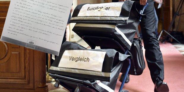 Geheimer Eurofighter-Vertrag entstand in SPÖ-Gartenhotel