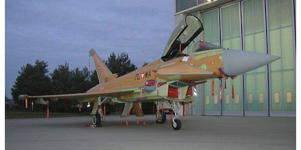 SP will mit Volksabstimmung Eurofighter abschießen