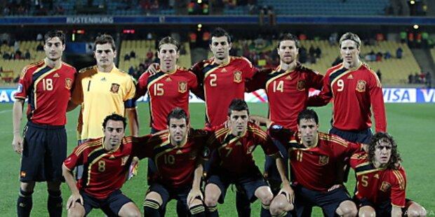 Spanien bereitet sich im Ländle auf WM vor