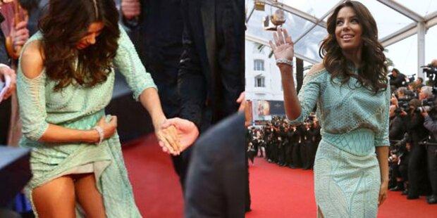 Eva Longoria mit Höschenblitzer