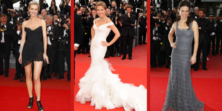 Eva Herzigiva, Evangeline Lilly, Elsa Pataky in Cannes