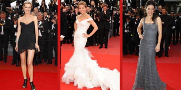Die schönsten Roben in Cannes