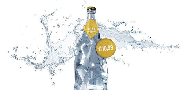 Irre! Wiener Firma verkauft halben Liter Wasser um 16,99 Euro