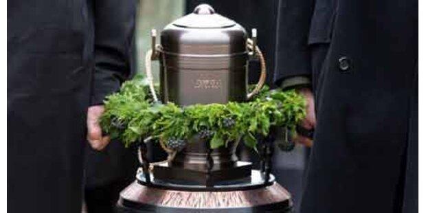 Urne kann zu Hause aufbewahrt werden