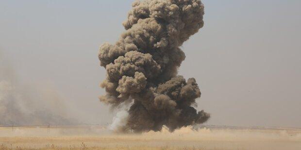 ISIS-Idiot sprengt sich selbst in die Luft