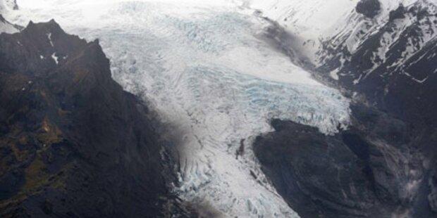 Ende des Eyjafjalla-Gletscher naht