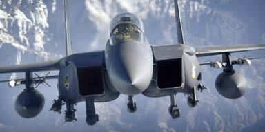 Kampfjet der US-Luftwaffe stürzt über der Nordsee ab
