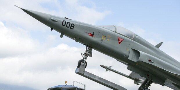 Abgestürzter Schweizer Kampfjet flog zu tief