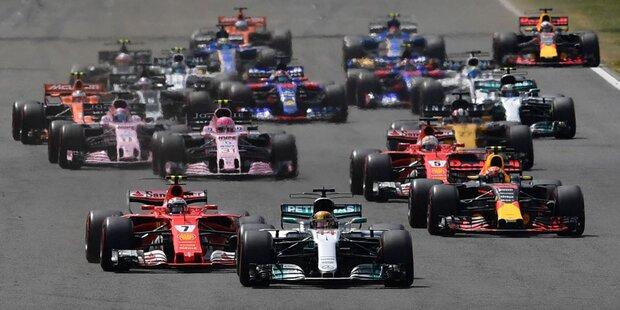 Formel 1 startet eigenen Streaming-Kanal