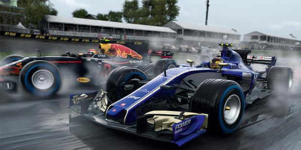 F1 2017: Poleposition für Codemasters