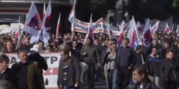 Athen: Neue Streiks der Beamten