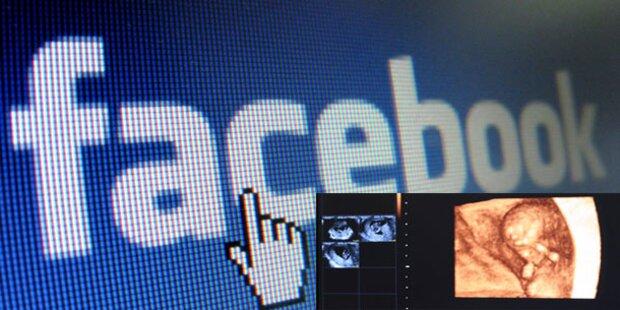 Ungeborene Kinder auf Facebook eintragen
