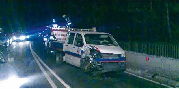 Verkehrsunfall nach Zechtour