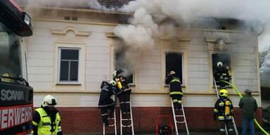 95-Jährige bei Brand in Einfamilienhaus gestorben