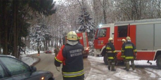 6 Verletzte bei Frontalcrash im Mostviertel