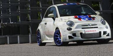 Fiat 500 mit brachialen 210 PS