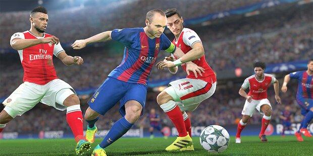 FIFA 18: Gurkerl im UHD-Glas kommen mit neuer Xbox