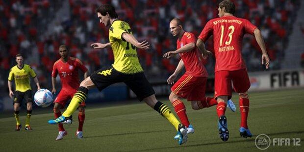 FIFA12: Demo zum Download verfügbar