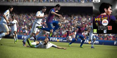 FIFA 13 mit zahlreichen neuen Funktion