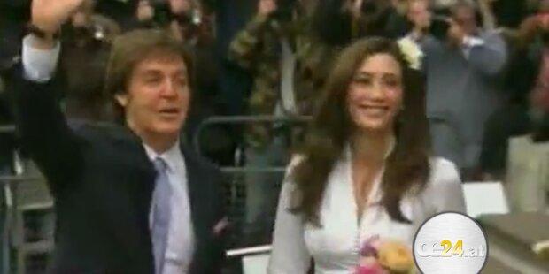 McCartney traut sich zum dritten Mal