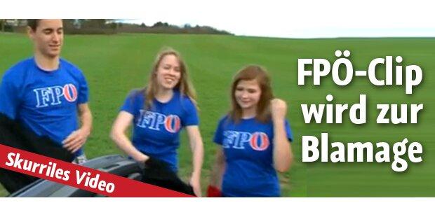 FPÖ blamiert sich mit Wahlkampfvideo