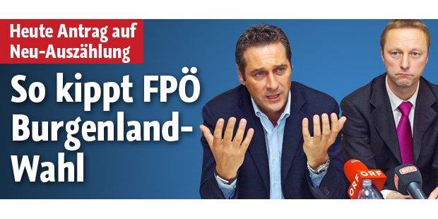 So kippt die FPÖ die Burgenland-Wahl