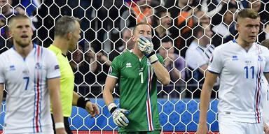 Frankreich gegen Island