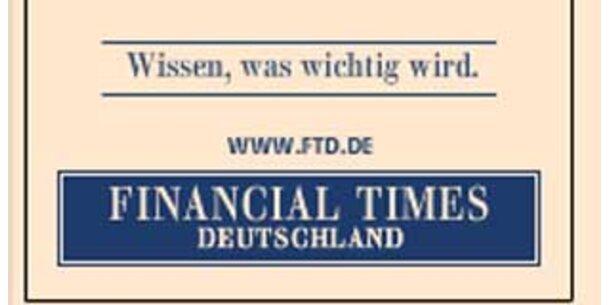 """Gruner + Jahr sackt  """"FTD"""" komplett ein"""