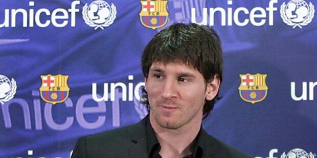 Weltfußballer Messi zu UNICEF-Botschafter ernannt