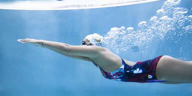 Schwimmen Sie sich schlank