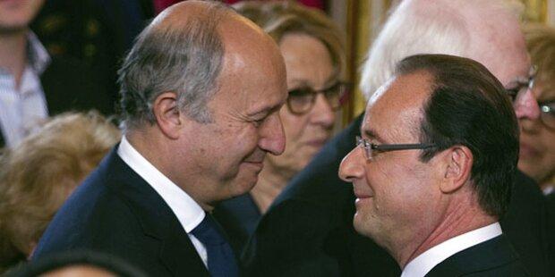 Fabius zum Außenminister Frankreichs ernannt