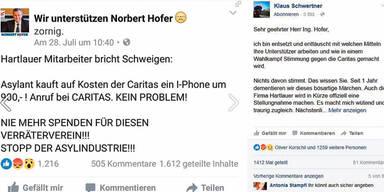 Hofer Facebook