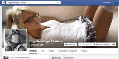 Nackte Frauen erobern Facebook