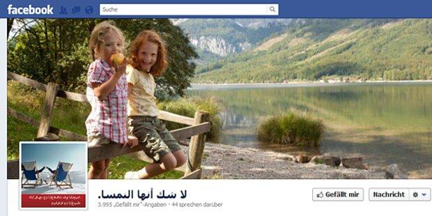 Facebook lockt Araber nach Österreich