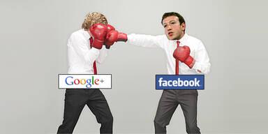 Facebook sperrt Werbung für Google+