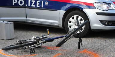 Fahrrad-Unfall