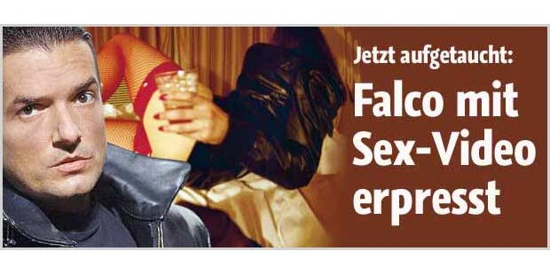 Falco beim Sex gefilmt - die Erpressung