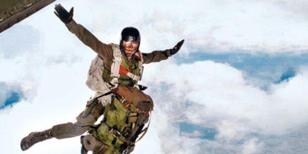Soldat stirbt bei Fallschirm-Sprung