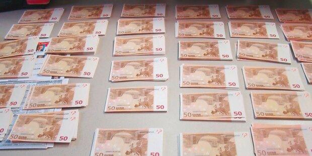 50.000 € Falschgeld in Auto versteckt