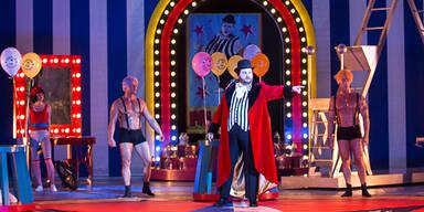 """Grazer Oper  zeigt """"Falstaff"""" als farbenprächtigen Spaß ohne Tiefgang"""