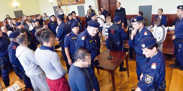 Familienbande folterte Opfer