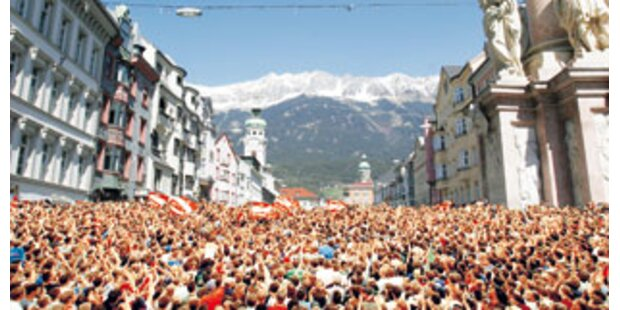 Run auf Innsbrucker EM-Standln eröffnet