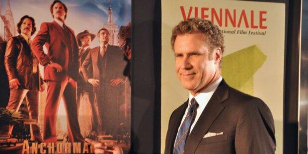 Will Ferrell verzauberte Viennale mit Humor