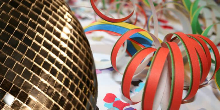 Faschings-Partys vor Fastenzeit