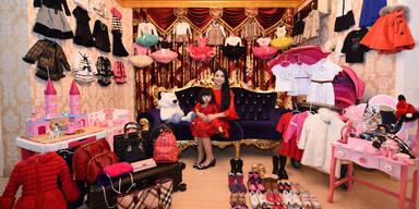 2-jährige feiert Fashion Party