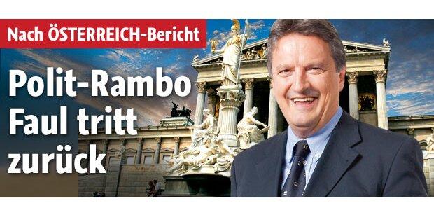 Polit-Rambo Christian Faul tritt zurück