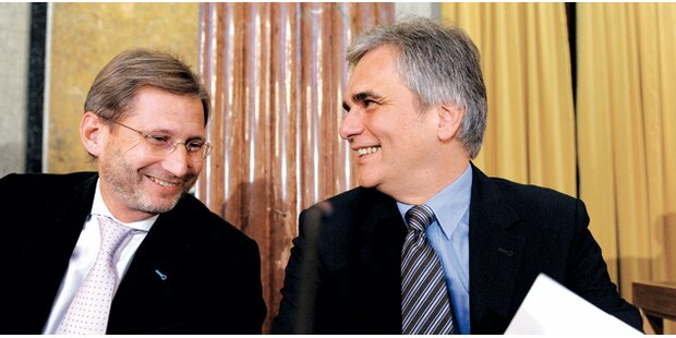 Koalition einigt sich auf Hahn als EU-Kommissar