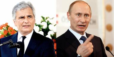 Faymann trifft heute Putin