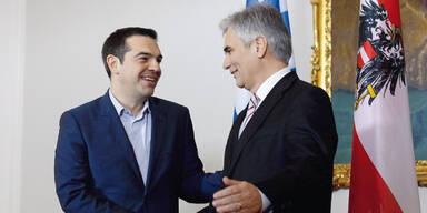 Faymann: Gespräche mit Tsipras und Junkers