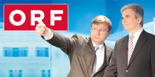 Kanzler & SPÖ legen sich auf Wrabetz fest